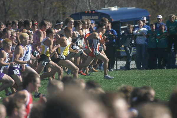 2004 Indiana High School  State Finals XC Meet